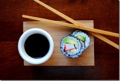 I have always wanted to try to make my own sushi!! I guess here is my chance!!