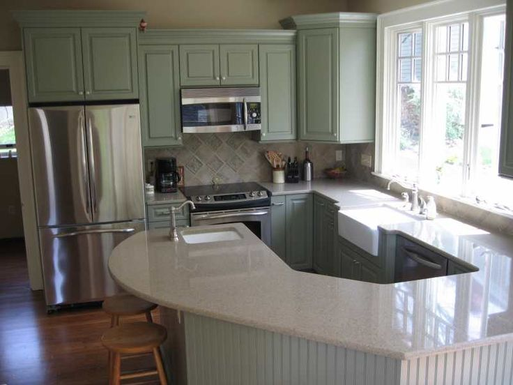 Sage Green Kitchen For The Home Pinterest