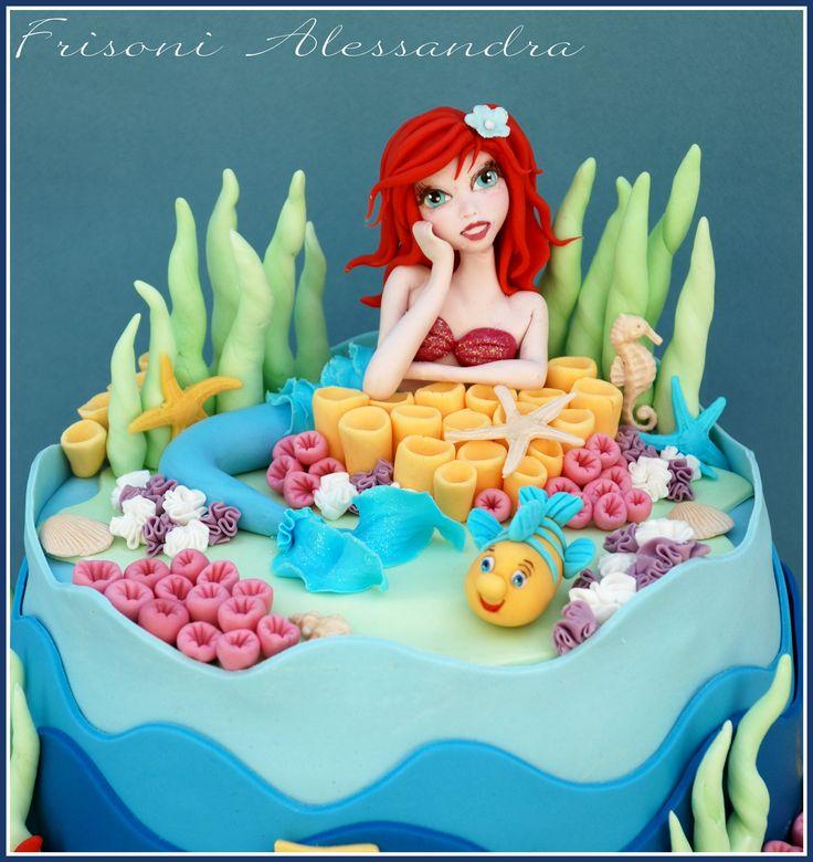 Elegant Little Mermaid Cake Ideas 14291 By Alessandra Fris
