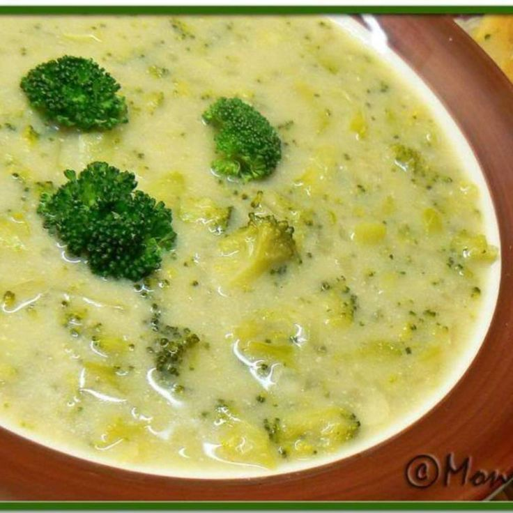 Cream of Broccoli Soup | Soups | Pinterest