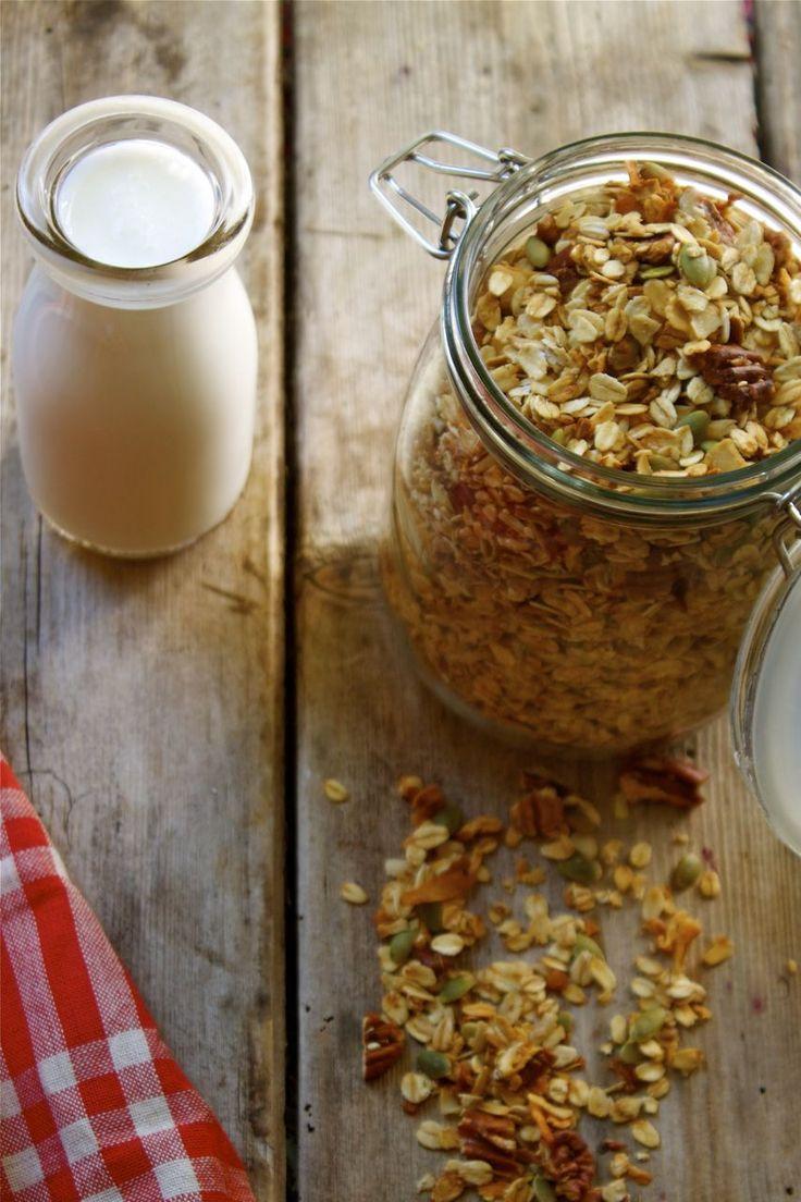 Pecan Coconut Granola | Nutritiously Delicious! | Pinterest