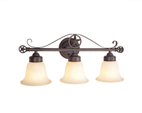 Vanity Lights With Bling : Bathroom vanity light Western redo home with bling bathroom Pinte?