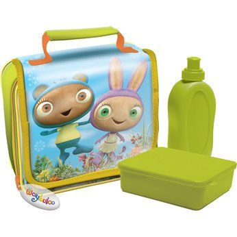 Waybuloo lunch bag and lunch kit cool lunch box and lunch bag pin
