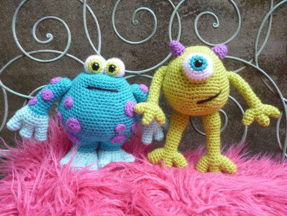 Horrid Horace & Scary Gary, Amigurumi Monsters Pattern.