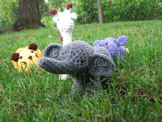 Crochet Patterns Zoo Animals : crochet zoo animals Craft Ideas Pinterest