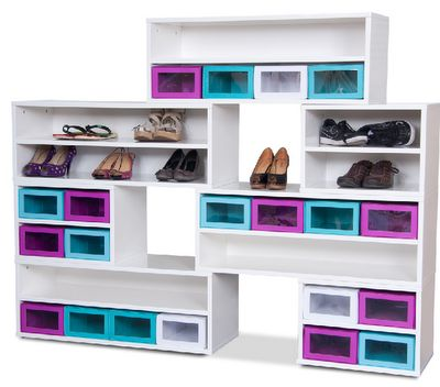 Fun storage for shoes