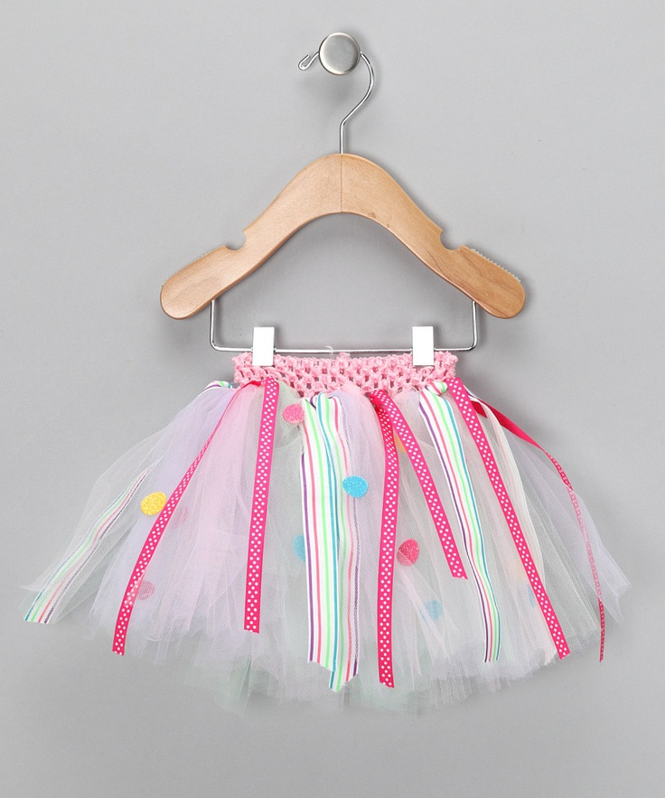 tutu with ribbons