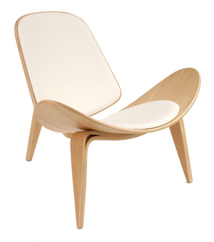 Hans wegner shell chair furniture pinterest - Shell chair replica ...