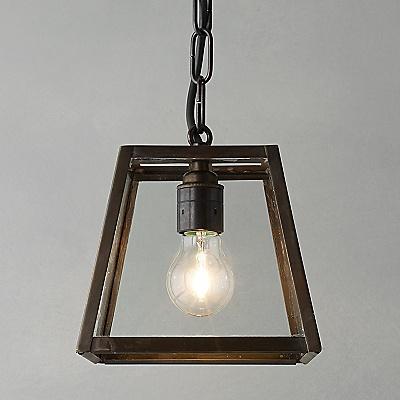 GLASS PENDANT LIGHT JOHN LEWIS