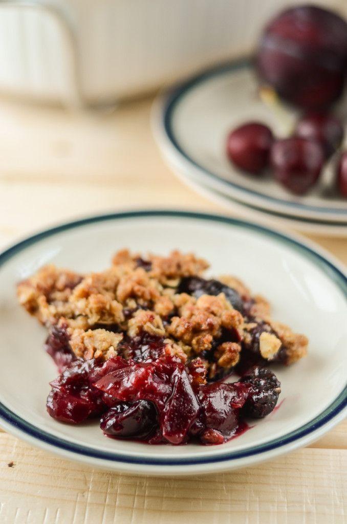 Cherry Plum Crisp | Recipe