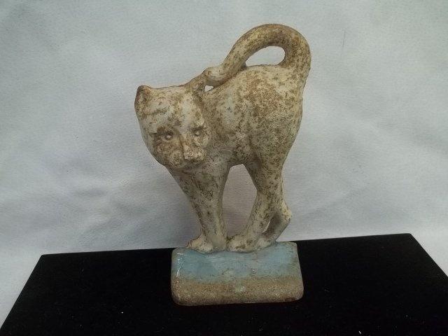 Cast iron cat doorstop antique door stops pinterest - Cast iron cat doorstop ...