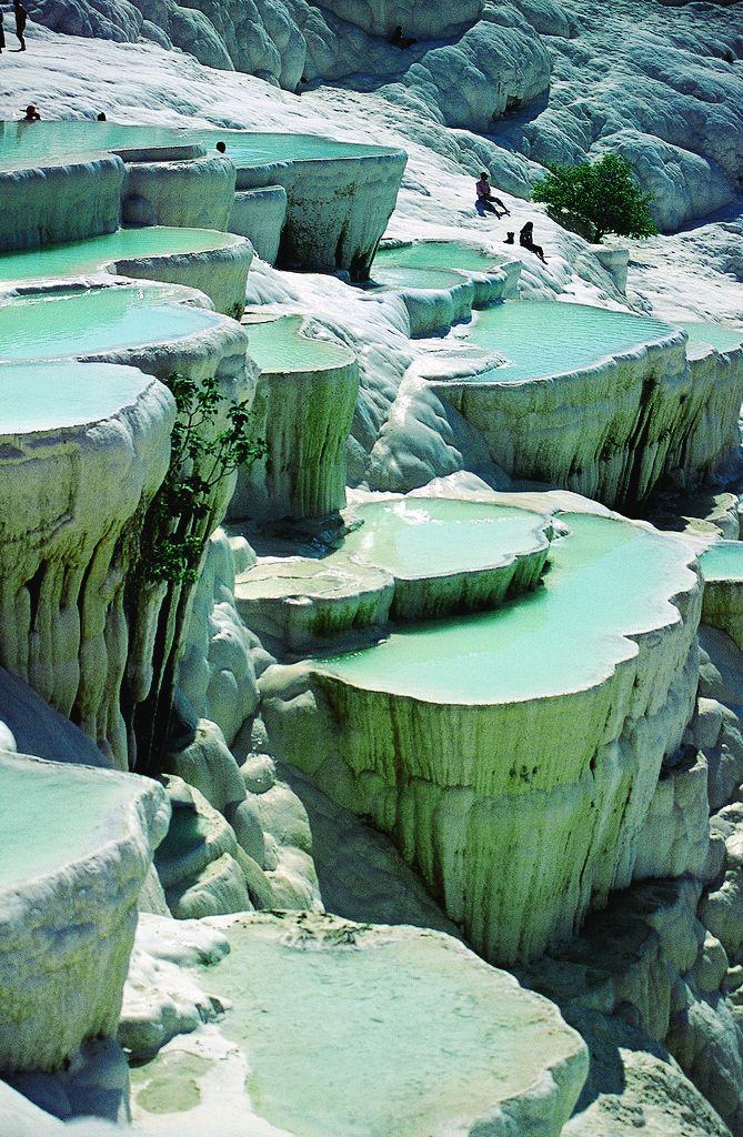 natural rock pools Turkey