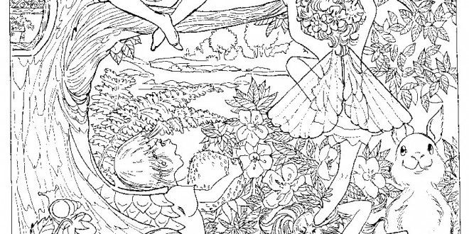 girl difficult coloring pages - photo#18