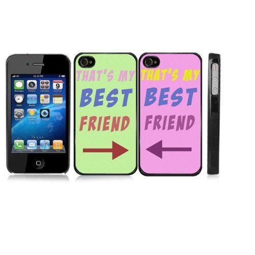 That s my best friend iphone case set friendship iphone 4 4s case b