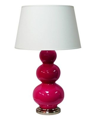 Hot pink lamp shade pink lamp shades on hot pink lamp shade hot pink lamp the right lamp shade to help you get through the mud aloadofball Images
