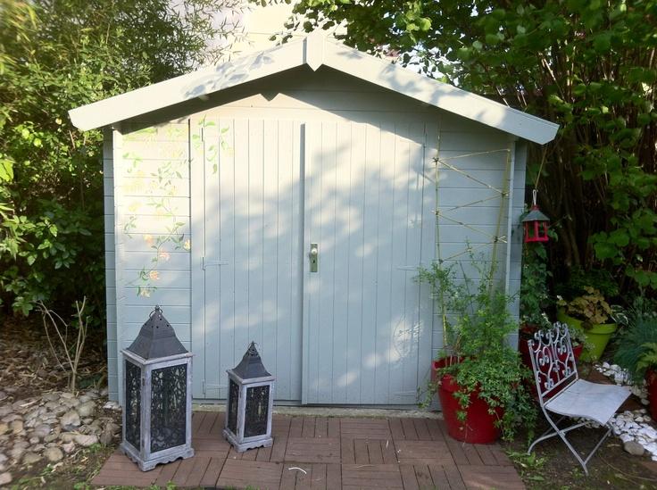 Cabane de jardin garden pinterest - Cabane de jardin grenoble ...