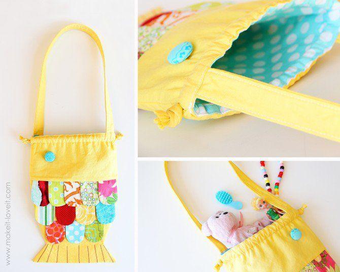 Как сделать детские сумки