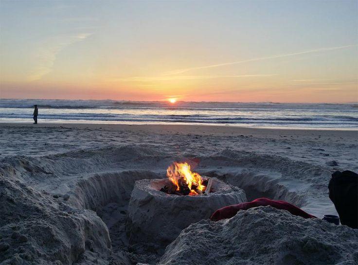 Beach Fire Pit | Summer Luv | Pinterest