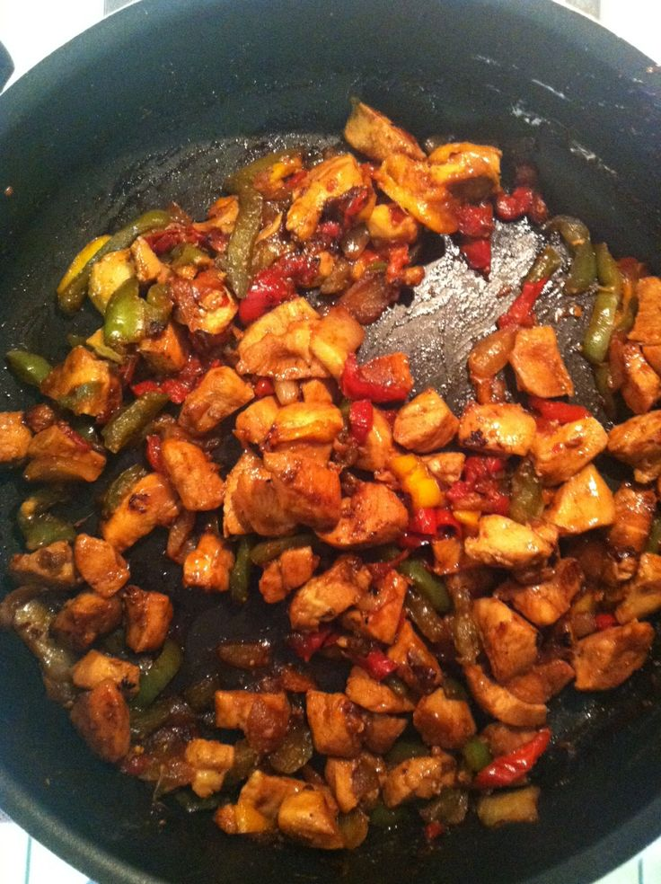 Honey Chicken Stir-Fry Recipe — Dishmaps