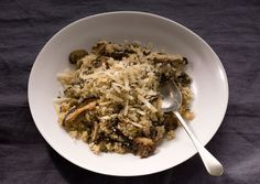 Quinoa Risotto with Mushrooms and Thyme | Recipe