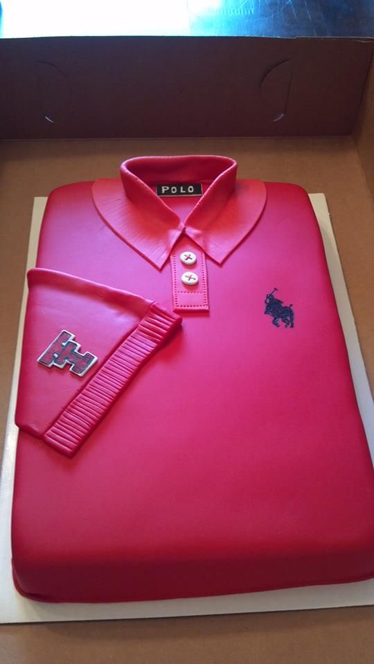 Texas Tech Polo Themed Birthday Cake JYJ Creations and More Odessa, Tx ...