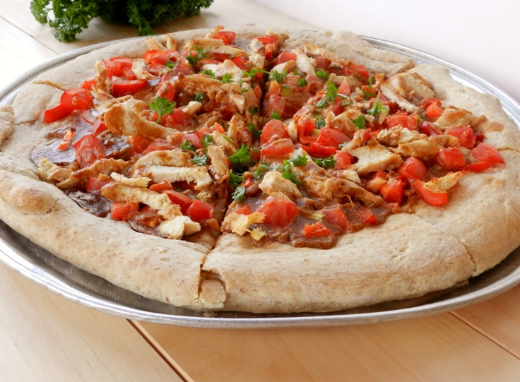 Satay Chicken Pizza | Two Saucy Sisters Recipes | Pinterest
