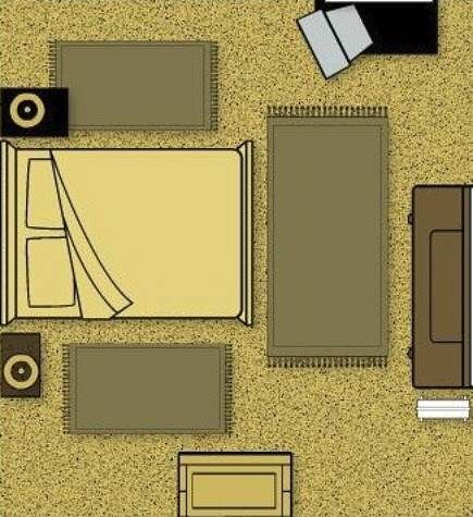 Bedroom rug placement 28 images bedroom rugs on rug for Bedroom rug placement