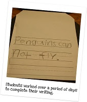 Penguin Writing Paper