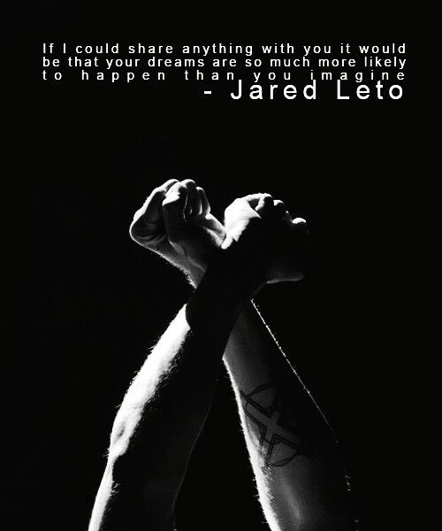 jared leto than you and dreams on pinterest
