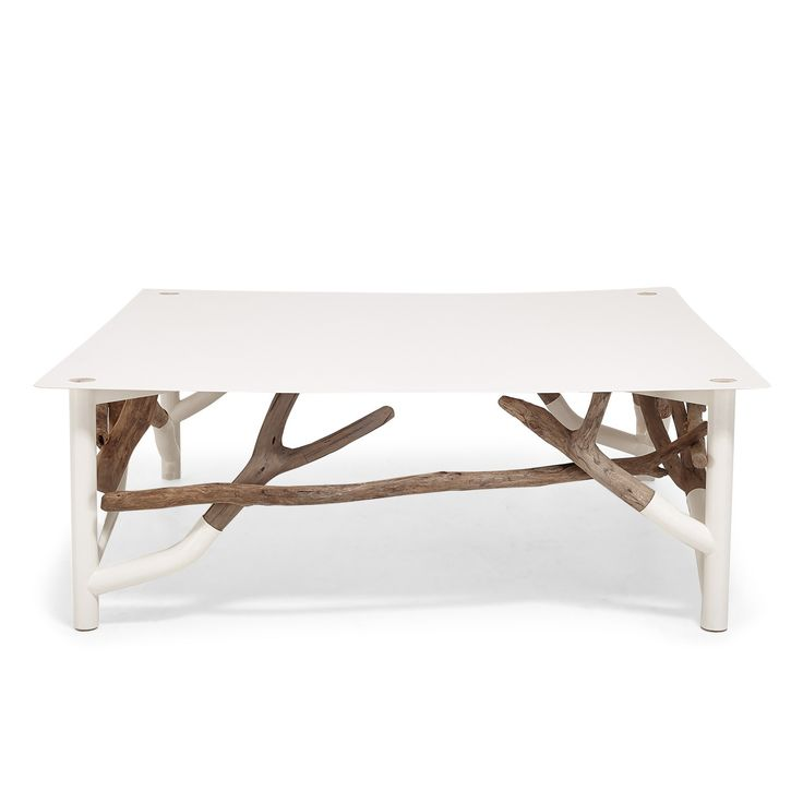 Ash elm driftwood cocktail table for the home pinterest for White driftwood coffee table