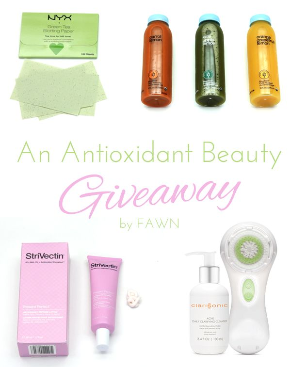 Enter the Beauty Lab: Antioxidant Beauty Giveaway for your chance to ...