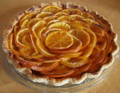 Veggie Obsession: Valencian Orange Tart | Desserts Only! | Pinterest