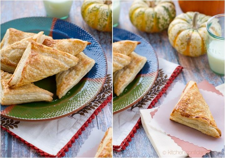 pumpkin turnovers. My hubby brought me back one yesterday from ...