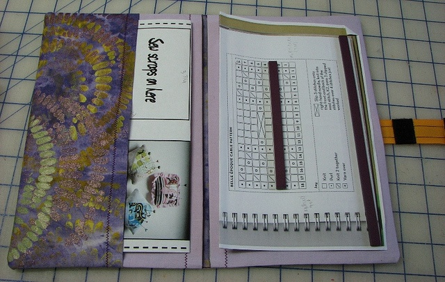 Magnetic Knitting Pattern Holder : knitting chart holder