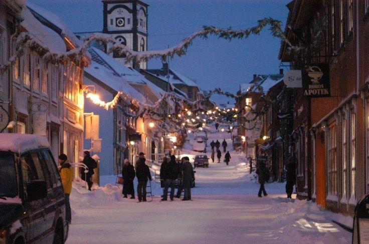 Cristmas in Røros, Norway
