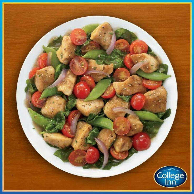 Chicken and snap peas | Chicken | Pinterest