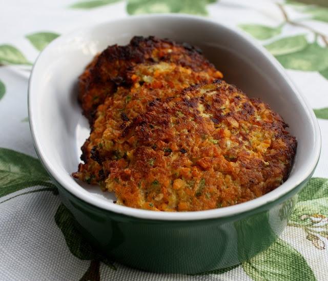 Zucchini & Sweet Potato Latkes | recepies | Pinterest