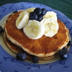 Banana Pancakes I Allrecipes.com We used King Arthur white whole wheat ...