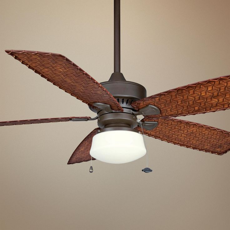 52 cancun oil rubbed bronze ceiling fan with light kit. Black Bedroom Furniture Sets. Home Design Ideas
