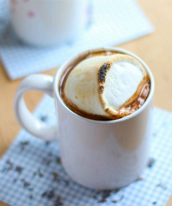 15 Takes on Hot Chocolate: Lavender Hot Chocolate