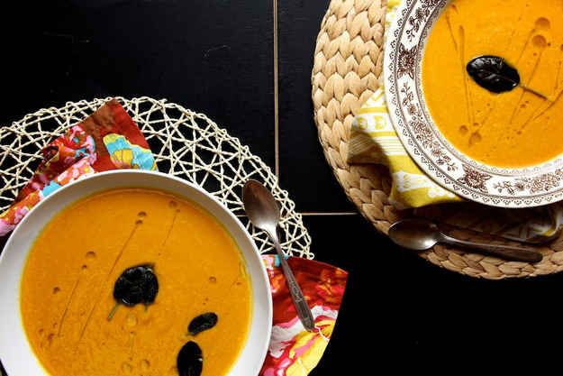 Creamy Curried Pumpkin Soup | 9 Vegan Soups And Stews For Fall