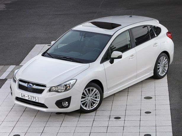 subaru impreza hatchback 2015 ground clearance