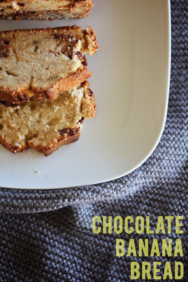 Chocolate Banana Bread | yummy | Pinterest