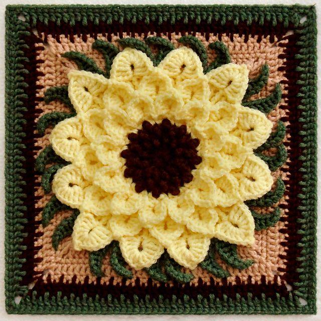 Free Crochet Pattern Crocodile Flower : The Crocodile Flower pattern