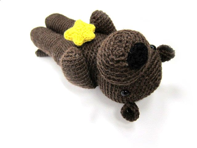 Crochet Otter Pattern