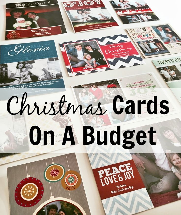Kent Heartstrings: Christmas Cards on a Budget