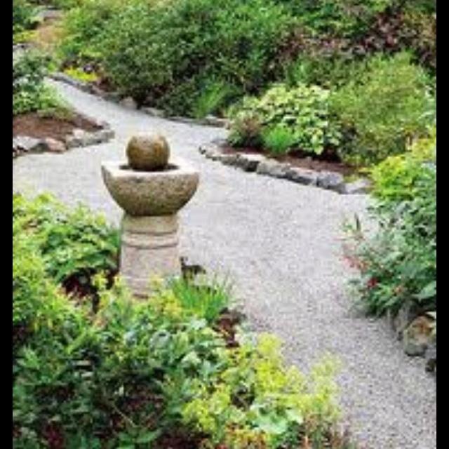 Grassless backyard inspiration home ideas building a for Grassless garden designs