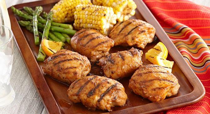 Grilled Chipotle Orange Chicken | Recipe