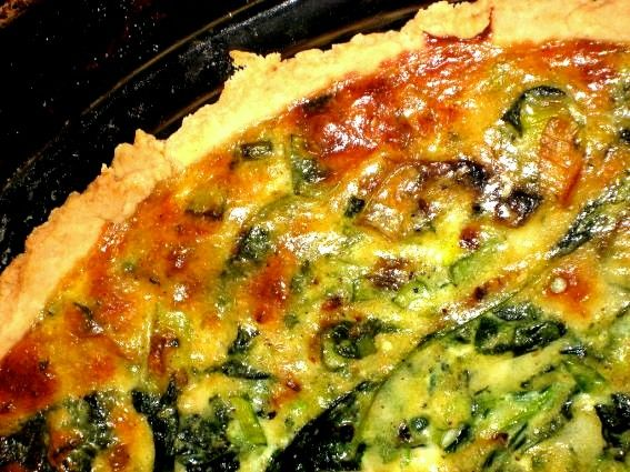 Spinach Quiche – Recipe | Brunch | Pinterest