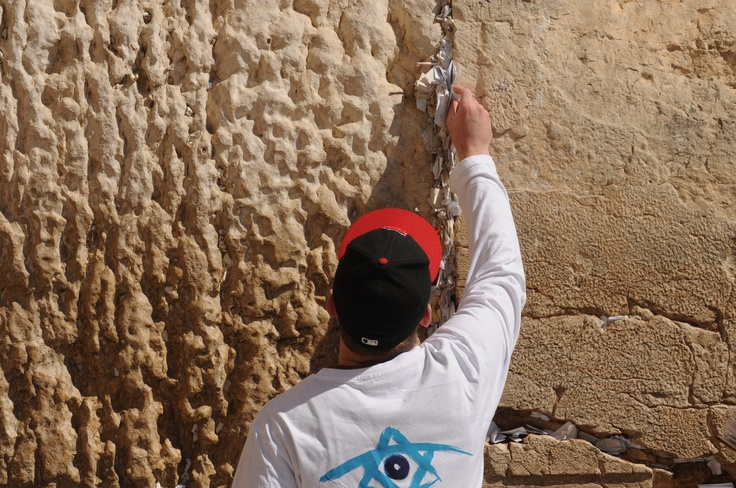western wall prayer notes removed